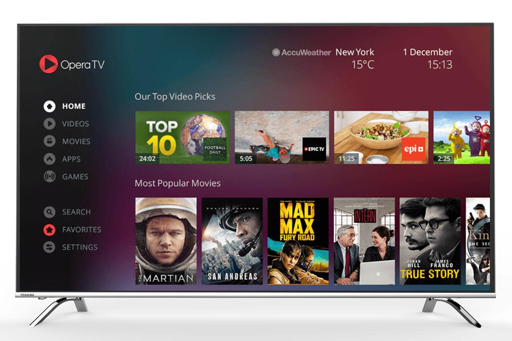 Smart Tivi Toshiba 49 inch 49U9650