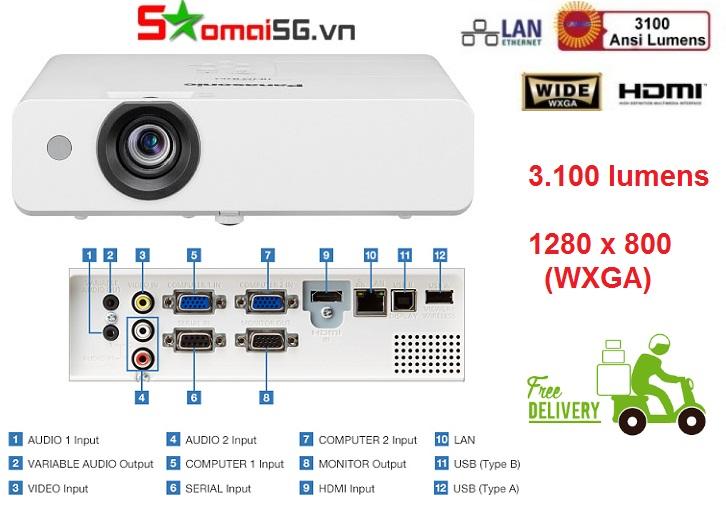 Máy chiếu Panasonic PT-LW333