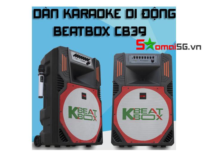Loa karaoke di động Beatbox CB39