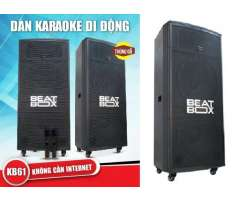 Loa karaoke di động Beatbox KB62