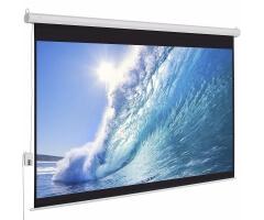 Màn chiếu điện Exzen 135 inch 2,4x2,4m