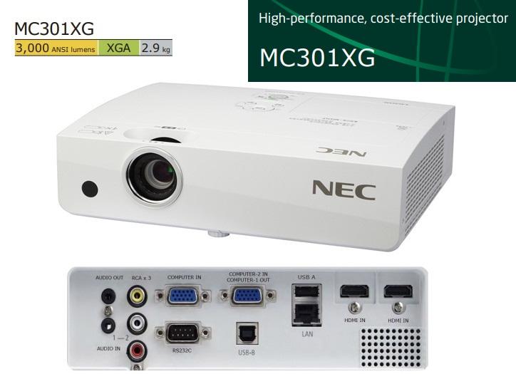 may-chieu-nec-NP-MC301XG
