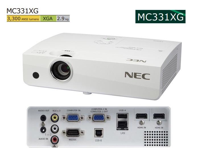 may-chieu-NEC NP-MC331XG