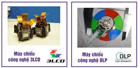 Những khác biệt cơ bản giữa máy chiếu công nghệ 3LCD và DLP