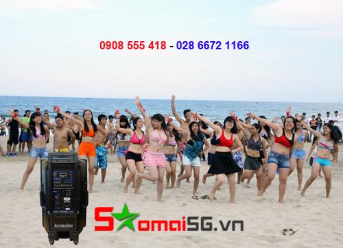 Cho Thuê Loa Kéo Tay giá rẻ tại quận Tân Phú và quận 10