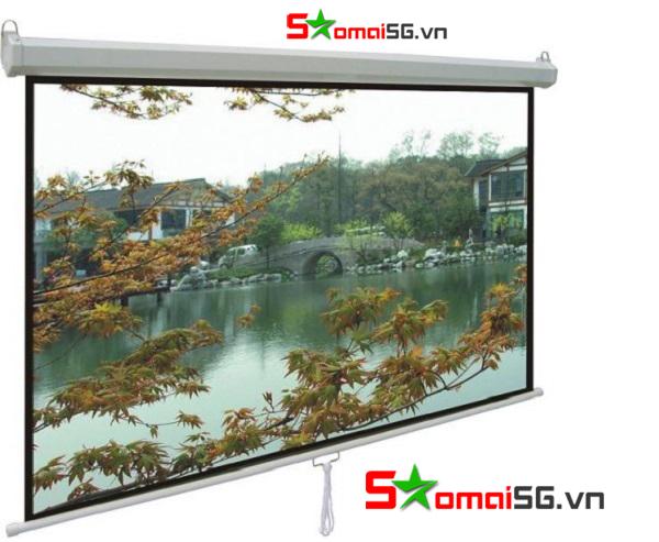 Màn chiếu treo tường Exzen 120 inch 2,1x2,1m