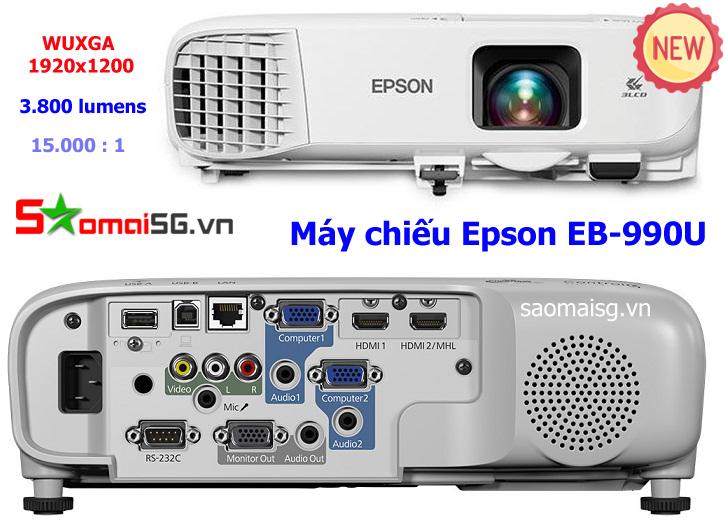 Epson EB-990U Projector - Máy chiếu Epson EB-990U
