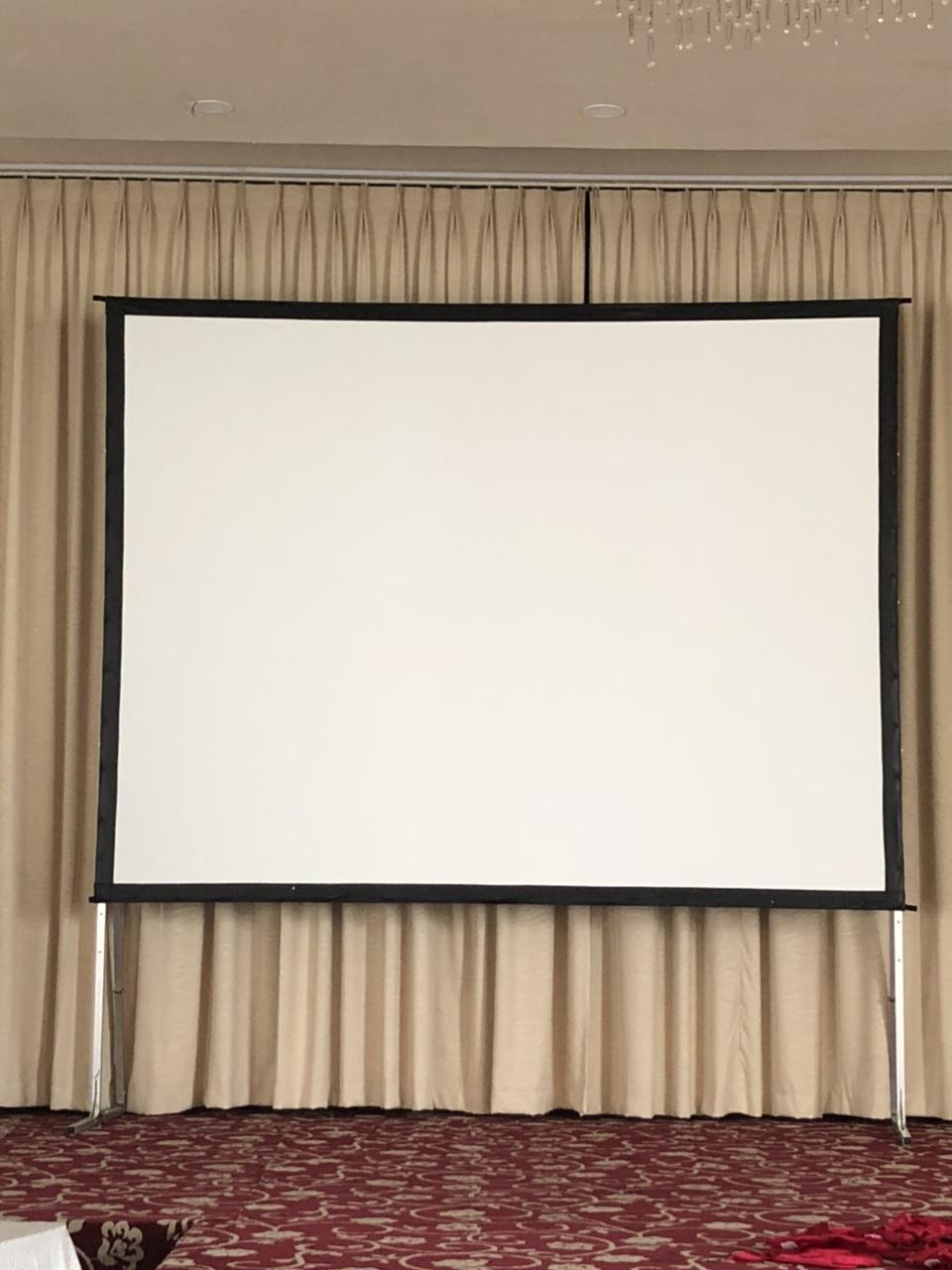 Màn chiếu khung 150 inch - Chiếu Trước Sau