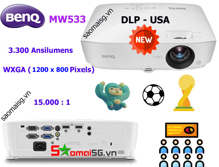 Máy chiếu BenQ MW533