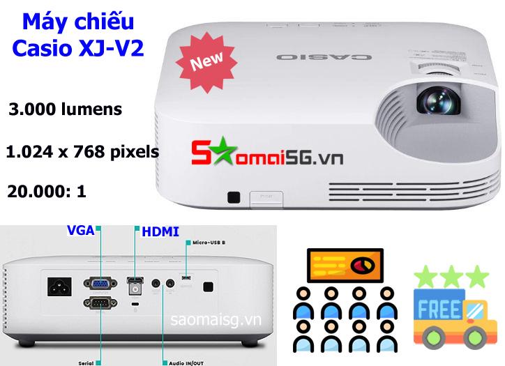 Máy chiếu Casio XJ-V2