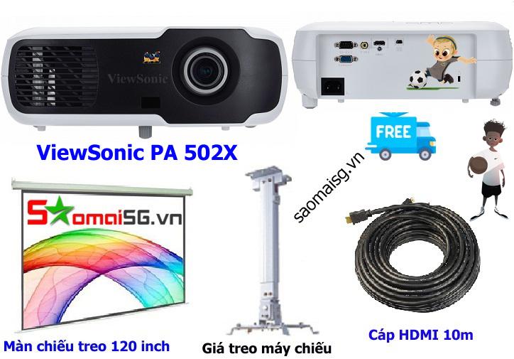 Máy chiếu ViewSonic PA 502XP trọn bộ