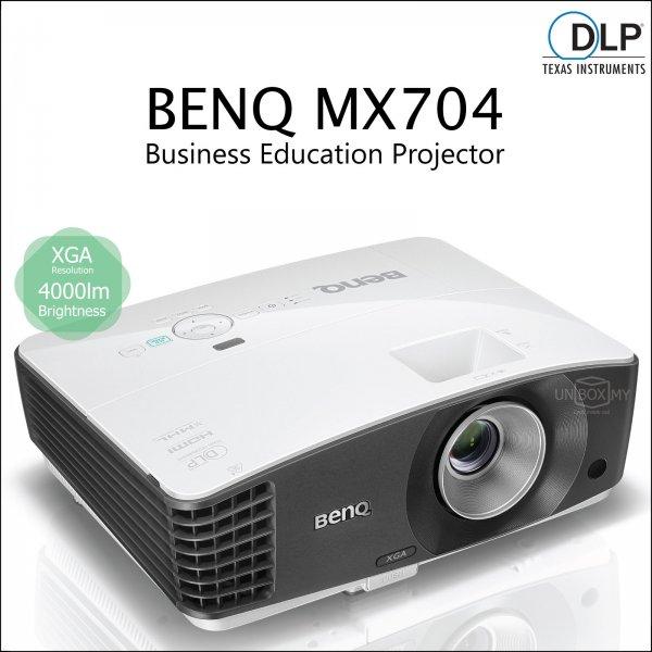 Máy chiếu BenQ MX 704 XGA 4000Lumens